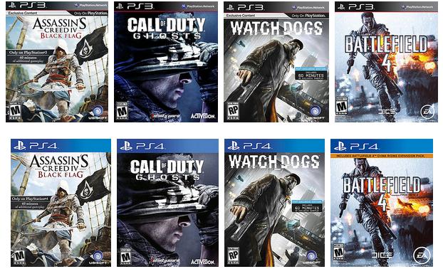 Игры PS3 новые