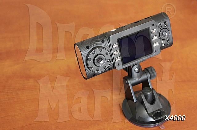 Автомобильный видеорегистратор X4000