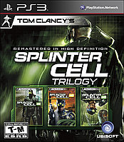 Игра для PS3 Tom Clancy's Splinter Cell Trilogy, фото 1
