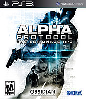 Игра для PS3 Alpha Protocol The Espionage RPG (вскрытый), фото 1