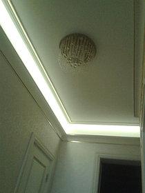 Светодиодная лента SMD5050 -220В  - цвет: теплый