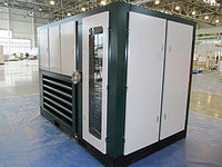 Электрический двухступенчатый винтовой компрессор EN 14/13 II