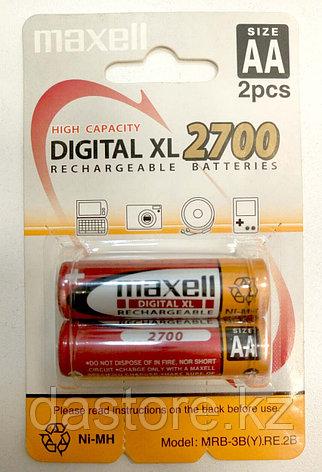 Maxell MRB-3B (Y) RE 2B.2700 аккумулятор тип АА, ёмкость 2700, фото 2