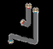 Соединительные трубопроводы для подключения по центру