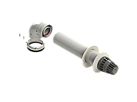 Комплект коаксиальный диам. 60/100 Compact (El, Bs, F, NF, U) RTF11.001C