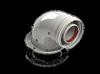 Колено подключения 90 диам. 60/100L (Pr) RTF13.015