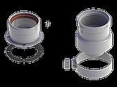 Адаптер разделительный двухблочный диам.80 (A) ROYAL THERMO RTF04.003