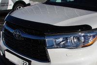 Мухобойка (дефлектор капота) наToyota Highlander/Тойота Хайлендер 2014-, фото 1
