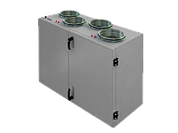 Компактная приточно-вытяжная установка с пластинчатым рекуператором SHUFT CAUP 800VWR-A