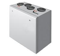 Компактная приточно-вытяжная установка с роторным рекуператором SHUFT CAUR 750 VWL-A