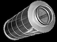 Шумоглушитель Аэроблок для круглых воздуховодов SCr 355/900