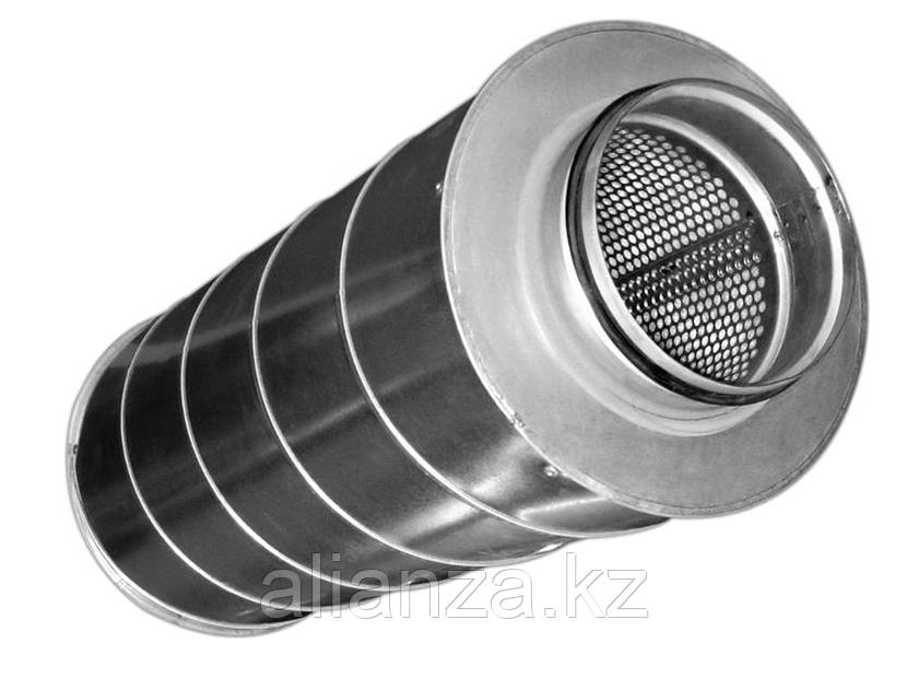 Шумоглушитель Аэроблок для круглых воздуховодов SCr 355/600
