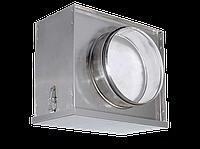 Воздушный фильтр-бокс Аэроблок с фильтром для круглых воздуховодов FBCr 125