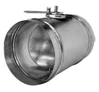 Воздушный клапан для круглых воздуховодов Аэроблок серии DCr 100