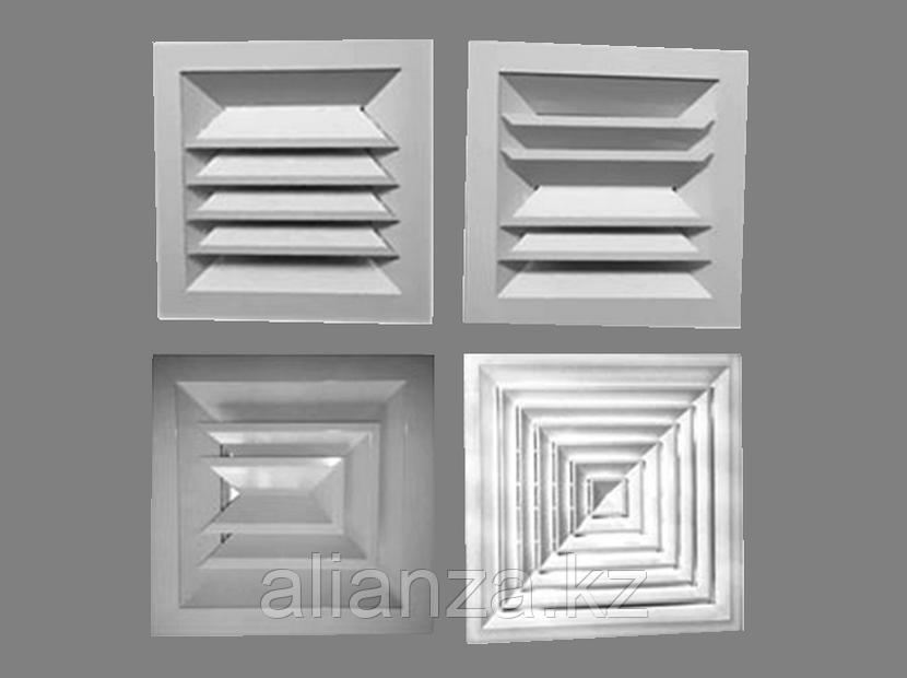 Потолочный диффузор 2АПН 450x450