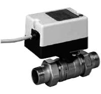 Двухходовой водяной клапан с приводом Gruner 235 R3-024-BOFI250N