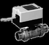Двухходовой водяной клапан с приводом Gruner 235 D2-230-BOFI150N