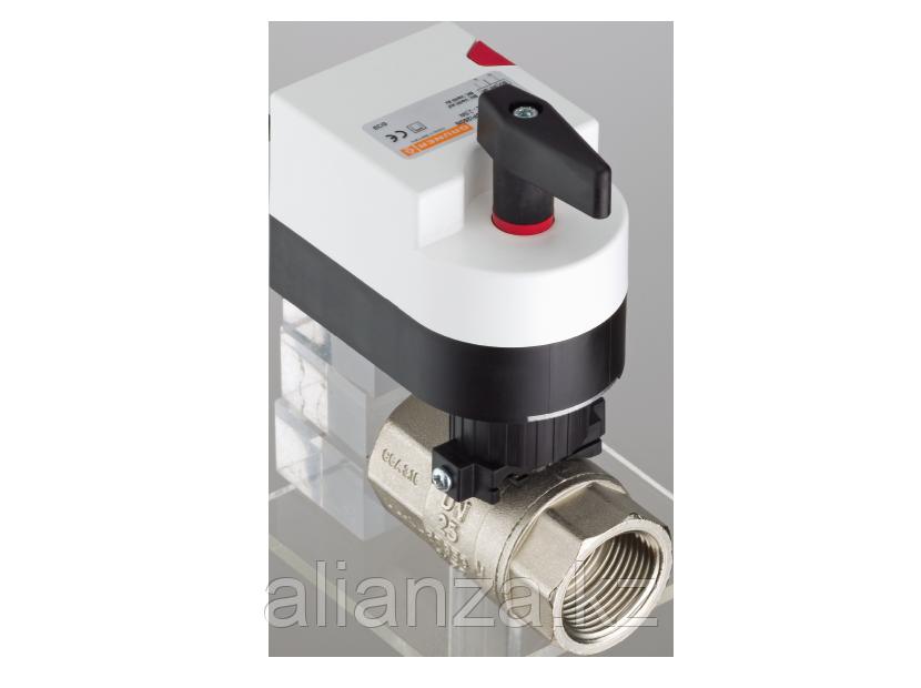 Двухходовой водяной клапан Gruner с приводом 224D-024-BOFI150N