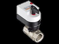 Двухходовой водяной клапан Gruner с приводом 224D-024-BOFI250N