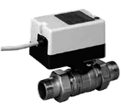 Двухходовой водяной клапан с приводом Gruner 235 R2-024-BOFI400N
