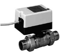 Двухходовой водяной клапан с приводом Gruner 235 R2-024-BOFI150N