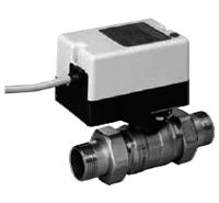 Двухходовой водяной клапан с приводом Gruner 235 D2-230-BOFI250N