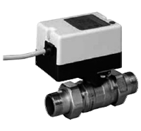 Двухходовой водяной клапан с приводом Gruner 235 D3-230-BOFI200N