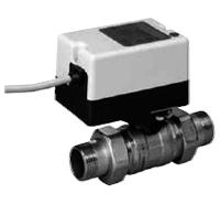 Двухходовой водяной клапан с приводом Gruner 235 C-024-BOFI150N