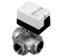 Трехходовой водяной клапан с приводом Gruner 235 C-024-BOLI320B