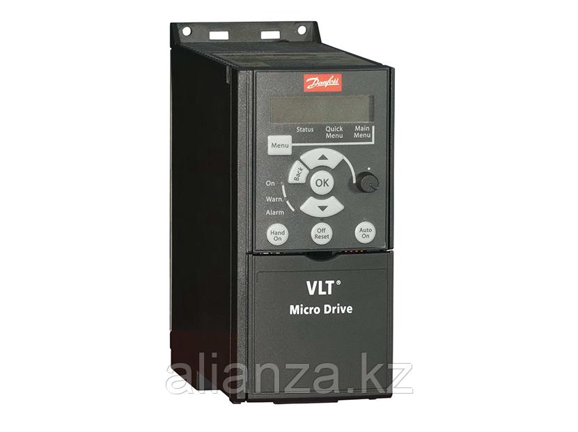 VLT Micro Drive FC 51 0,18 кВт (200-240, 1 фаза) 132F0001-Частот.преобраз.