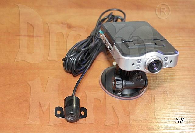 Автомобильный видеорегистратор X8