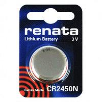 Батарейка CR2450N Renata 540mAh, 1 шт, блистер