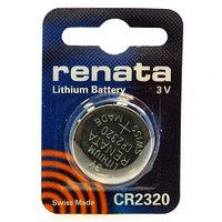 Батарейка CR2320 Renata, 1 шт, блистер