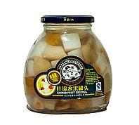 Компот-микс (персик,груша,кокос,вишня), 700 г