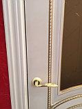 """Двери межкомнатные из массива сосны """"ДЛ 200 Белая эмаль ПГ"""", фото 7"""