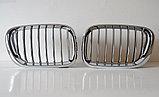 Ноздри Хромированные на BMW X5 E53 2000-2003, фото 3