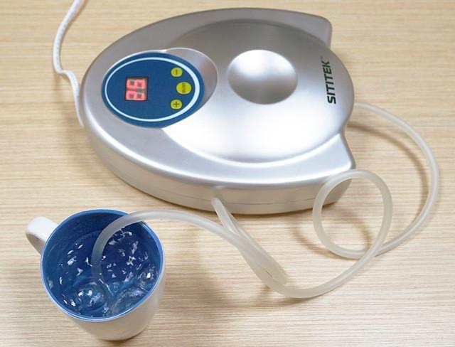 С помощью озонатора SITITEK GL-3188 можно озонировать небольшой стакан воды или целую ванну