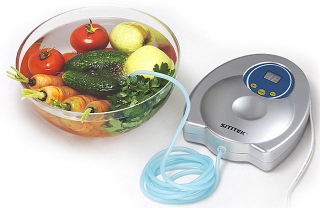 Озонатор SITITEK GL-3188 — незаменимый помощник хозяйки, с его помощью можно удалить 99,9% ядохимикатов и микробов с поверхности овощей и фруктов
