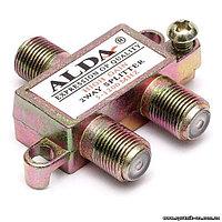 Разветвитель телевизионного аналогового и цифрового сигнала Splitter 2 way ALDA mini