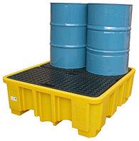 Поддон - контейнер 485 л на 4 бочки для ЛРТЖ (Код: SJ-100-011)
