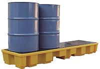 Поддон - контейнер, рядный, на 4 бочки для ЛРТЖ (Код: SJ-100-061)