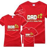 Семейные футболки креативный подарок, фото 4