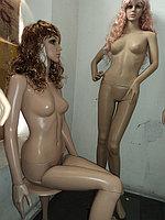 Манекен Кукла сидячая пластиковая
