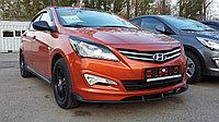 Обвес Sport на Hyundai Accent (Solaris) 2014+