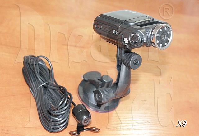 Автомобильный видеорегистратор X9