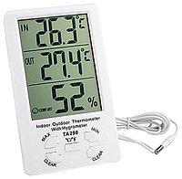 Гигрометр, термометры и часы TA298,метеостанция