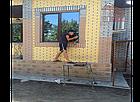 Фасадная облицовочная бетонная панель под кирпич на шурупах, фото 8