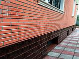 Фасадная панель бетонная под клинкерный кирпич на шурупах, фото 8