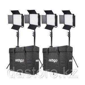 Datavideo LightKit 3 Daylight / 1 Bicolor /4 stand комплект заливного света со штативами