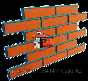 Фасадная облицовочная бетонная панель под кирпич на шурупах